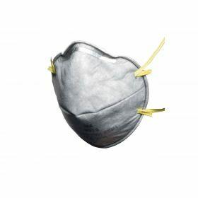 Industrial anti-dust mask FFP1 against smells