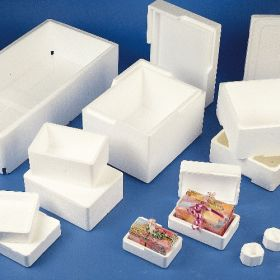 Transport box styrofoam- 310x230x145mm - w/o lid