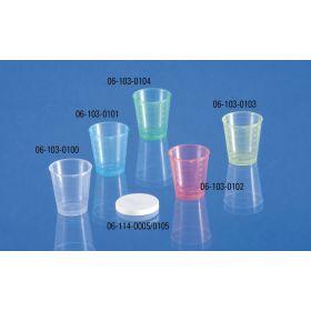 Lid for medecine cup - 30ml - white