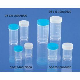 Sputum container 35ml PP + screwcap