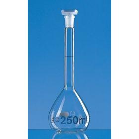 Volum.flask 50ml  W Blaubr. cl.A, PP-stopper