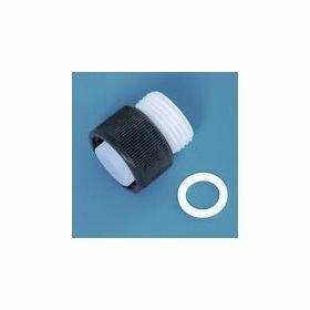 Brand Adapter for discharge tube seripettor® pro, with seal, ETFE