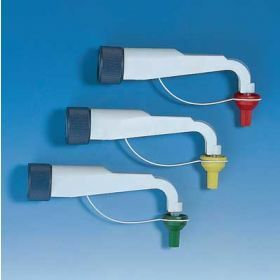 Discharge tube FEP with integrated valve f.Disp.0,