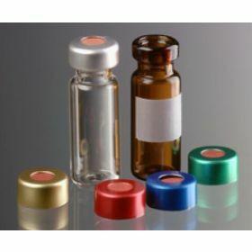 Crimptop alucap silver D11mm + rubber/ETFE-septa