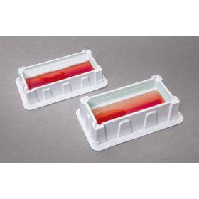 Standard reagent reservoir white polystyrene 100 ml - sterile / 1