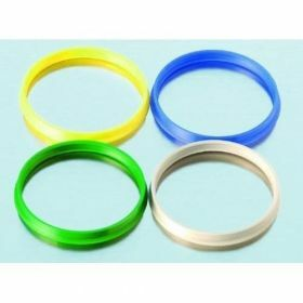 Pouring ring yellow PP GL45 Duran