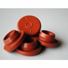 Butyl septum stopper - red - D28mm