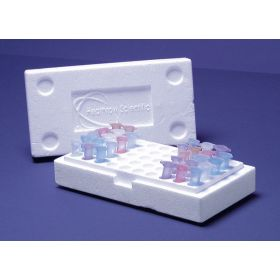 Styrofoam box +lid for 100 cups