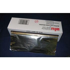 Alu foil on roll 33cmx200m 11µ