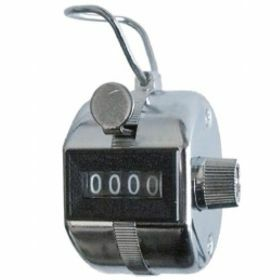 Manual cell counter with ring