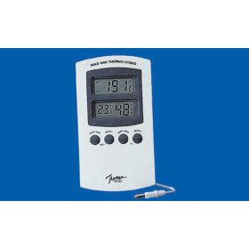 Thermo-& hygrometre int-ext -50>>+70°C / 25-98%