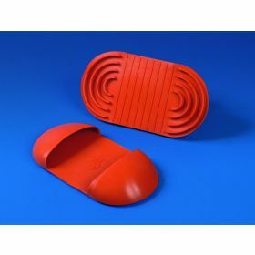 Hand protector,hotgrip in red versilic