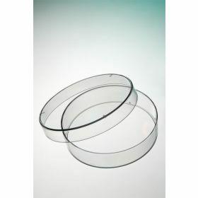 Petri dish D55mm (H14.2mm), 6 vents, sterile