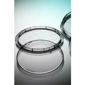 contact dish, D65mm, flat base, grip lid, sterile