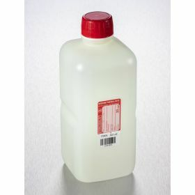 bottle 1000ml HDPE with sodium thiosulfate 20mg/l,sterile, shaped seal screw cap