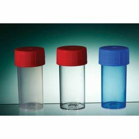 container TP35C 60ml PP blue screw cap, sterile