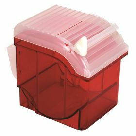 ABS Parafilm dispenser + cutter, red