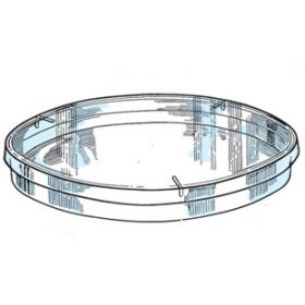 Petri dish D140mm , with vents, sterile