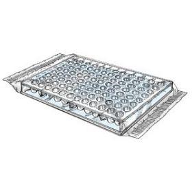 Microtitration plate PS,  U-bottom