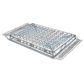 Microtitration plate PS, F-bottom