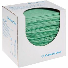 Protection cloths KIMCARE 38x50cm - green