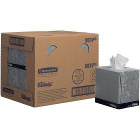 Facial tissue Cube Kleenex , white, 2-ply, 21x20cm
