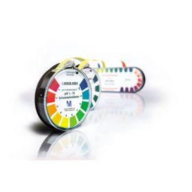 Merck Alkalit pH indicator paper pH 6.4 - 8.0 with colors cale
