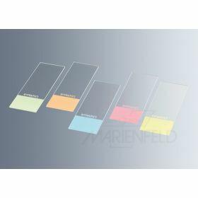 slide Unimark cut edges blue