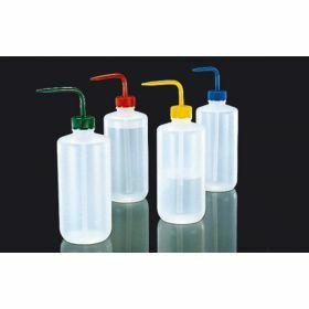 Wash bottle LDPE 500 mL yellow cap