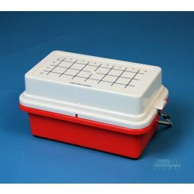 Minicooler 32x0,5>2ml red PC+lid w/o gel5u<1°C