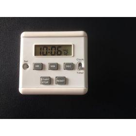 Timer-clock  digital