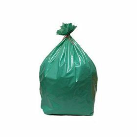 Waste bags - green - 40µm.700x1050mm - 110L - LDPE