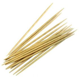 Tooth picks - wood - 80mm - double-pointed
