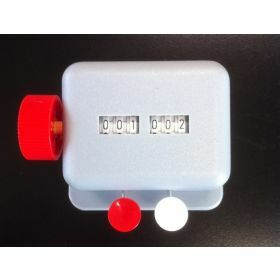 Manual cell counter - 2 counters - ABS housing