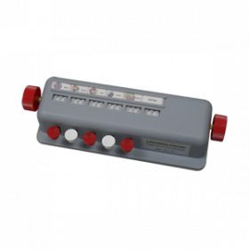 Manual cell counter - 5 counters - ABS housing