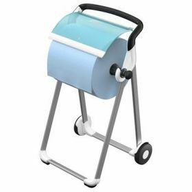Tork floorstand mobile white/Turquoise