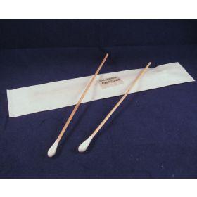 wooden applicator, cotton tip, sterile/2