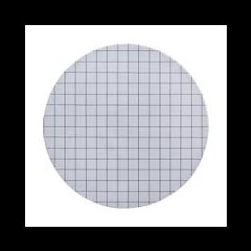 ME24/21 sterile membrane filter white/black grid D47mm 0,2µm