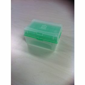 NEW Tip-Box EMPTY for 300µl tips PP+rack w/o tips