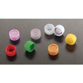 Screw cap + O-ring for capinsert, white, for micrewtube