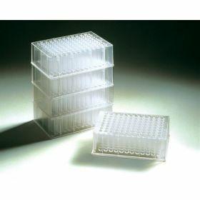 Deepwell plate 2.2 mL (square wells, round bottom) polypropylene, sterile - Treff