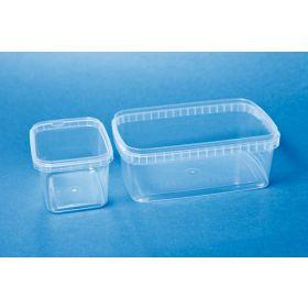 Storage box PP 480ml rectangular without cap