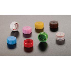 Screwcap for micrewtube + o-ring - red