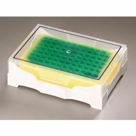 Rack Isofreeze 24 tubes - green to yellow