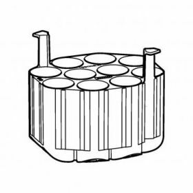 Epp SET: 2 Adapters 10x50ml conical for rotor Universal-Large