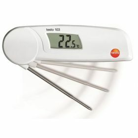 Testo 103 Food thermometer with folding probe, 220°C