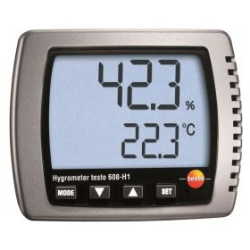 Testo 608-H1 Thermo hygrometer, 50°C