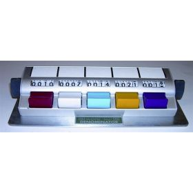 Denominator counter -  multiple tally - 5  buttons - without total