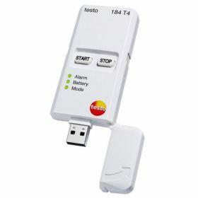 Testo 184-T4 USB temperature data logger, unlimited operating time, -80°C -> 70°C