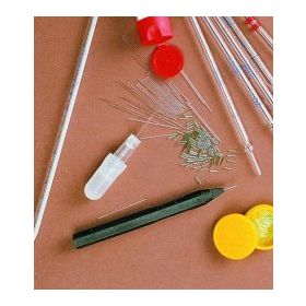 Micro capillaries incl. holder and bulb - 0,5µl